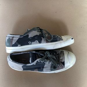 Men's converse jack purcell distressed camp